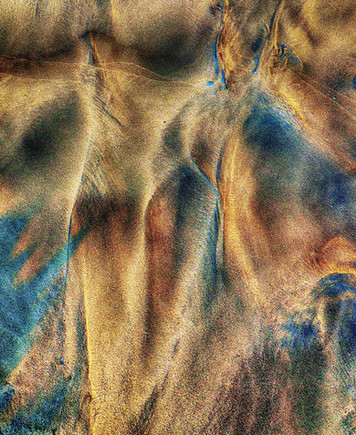 """Mixed In the Sand   24"""" x 22""""   Photography"""