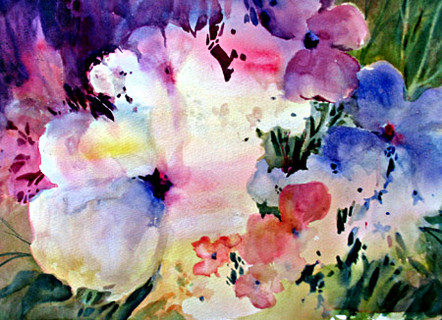 "Spring Splendor | 20"" x 24"" | Watercolor"