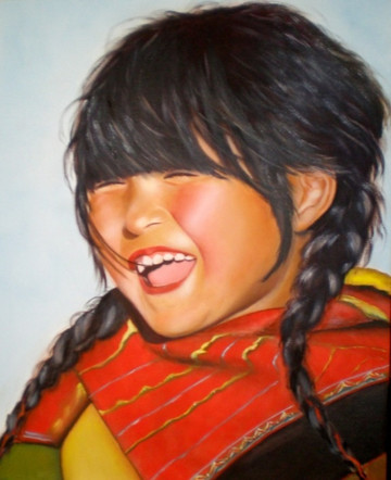 "Maya | 16"" x 20"" | Oil/Canvas"
