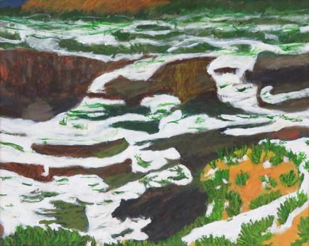 "Painted Desert   20"" x 16""   Acrylic on Canvas"