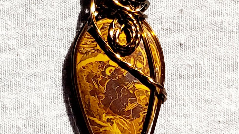 Mariam Jasper Wrapped in Vintage Bronze