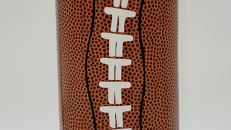 25 oz. Duo Lid Denver Broncos Football Double Walled Stainless Steel Tumbler
