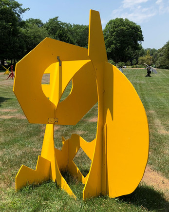 "Random Vowel | 95"" x 56"" x 47"" 