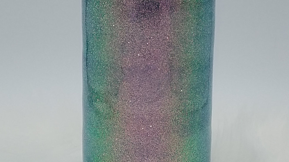 22Oz.Opalescent Glittered Double Walled Stainless SteelTumbler