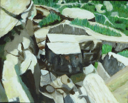 "Painted Desert VII   20"" x 16""   Acrylic on Canvas"