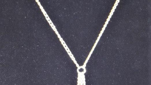 Tri-Heart Dangle Necklace