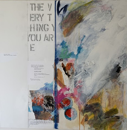 """The Very Thing You Are 