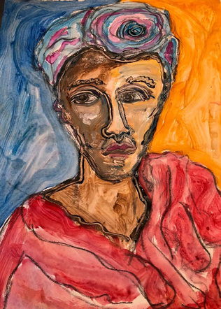 """Daniele with Hat 