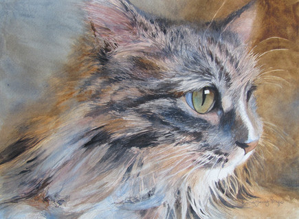 "Feline Friendly | 11"" x 15"" 