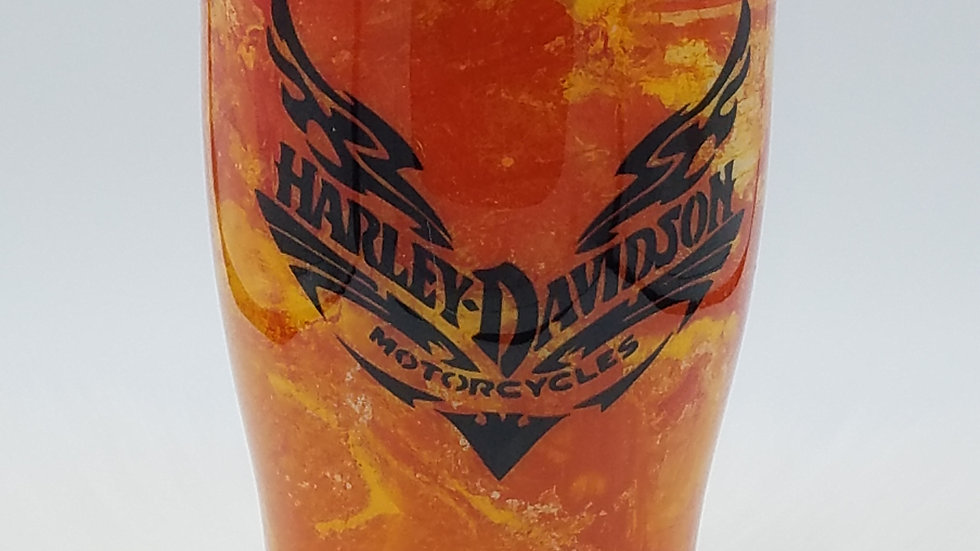 30 Oz. Hydro Dip Harley DavidsonDouble Walled Stainless Steel Tumbler