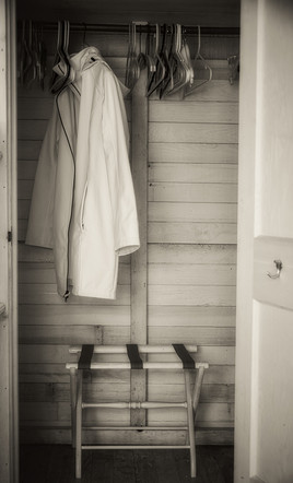 """The Quiertude of The Cottage Closet   36"""" x 24""""   Archival Digital Infrared Photography"""