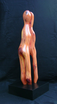 "The Lovers | 33"" x 9"" x 6"" 