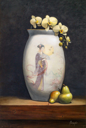 """Orchids and Pears 
