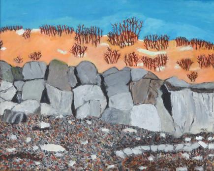 """Maine Beach   20"""" x 16""""   Acrylic on Canvas"""