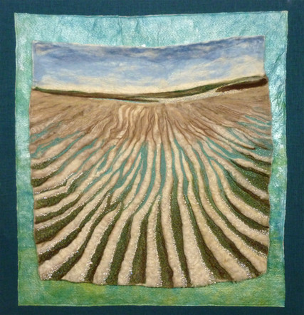 "Last Day of Summer, First Encounter Beach | 30"" x 30"" 