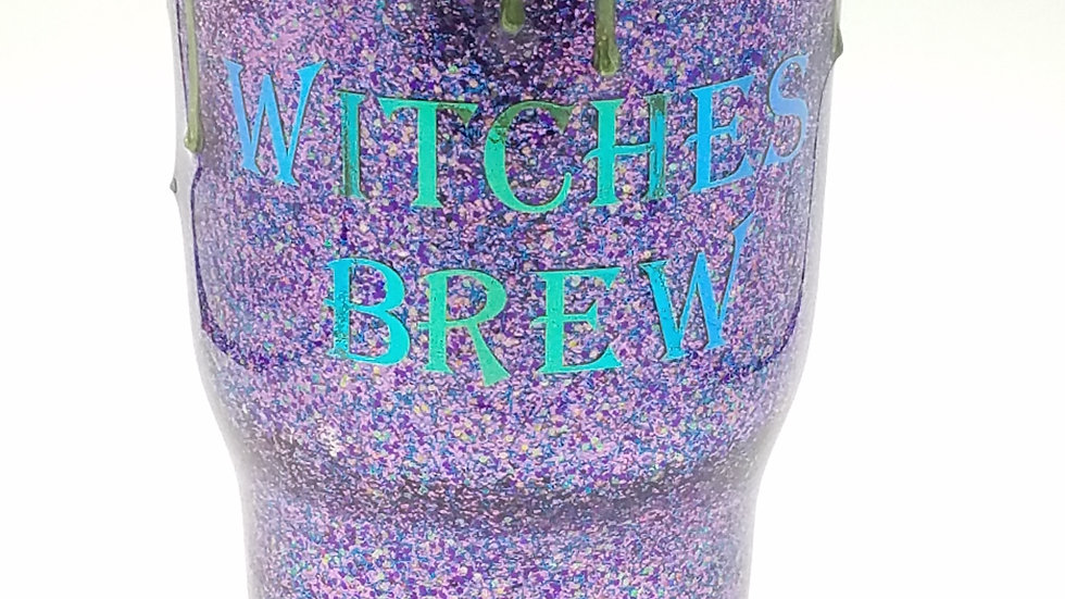 30 Oz Witches Brew Double Walled Stainless Steel Tumbler