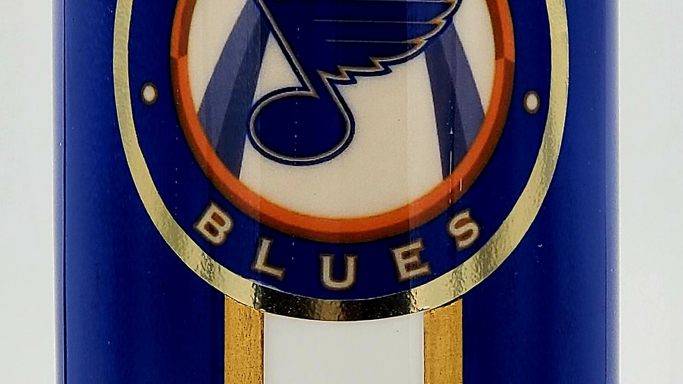 30 oz. St. Louis Blues Hockey Double Walled Stainless Steel Tumbler