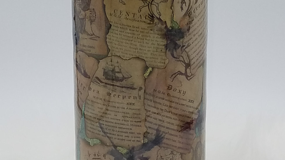 22 Oz. Newt's Book of Fantastic Beasts Double Walled Stainless Steel Tumbler