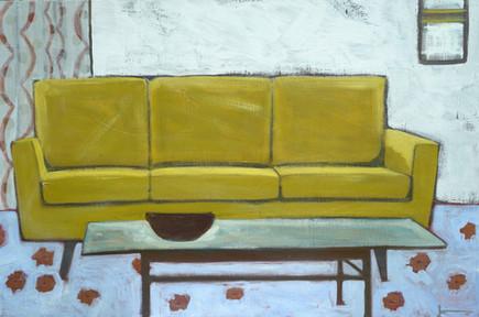 "Living Room | 36"" x 24"" | Acrylic on Canvas"