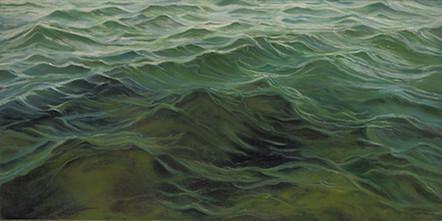 "Mystic River | 12"" x 24"" | Acrylic on Canvas"