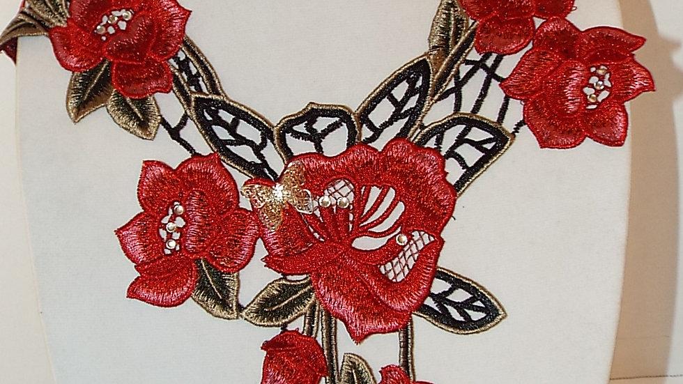 Large Lace Necklace
