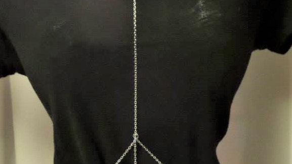 Double Silver Body Chain