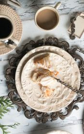 "11""D Acanthus Dinner Plate"