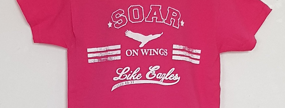 SOAR on wings like Eagles! T-Shirt