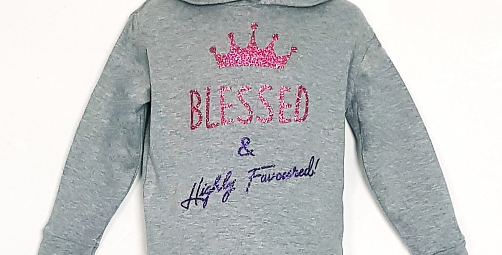 Blessed & Highly FAVOURED! Light weight Hoodie