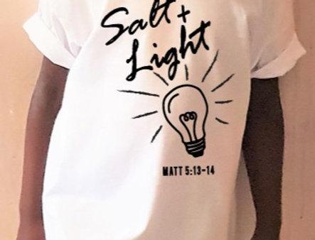 SALT + LIGHT - T- Shirt
