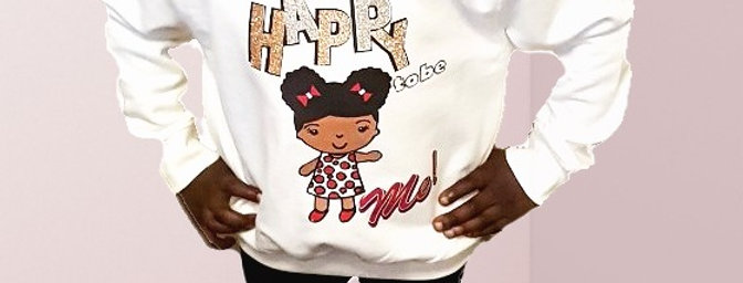 HAPPY to be Me! Sparkle Sweater