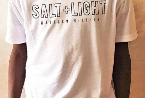 SALT + LIGHT Outline - T- Shirt