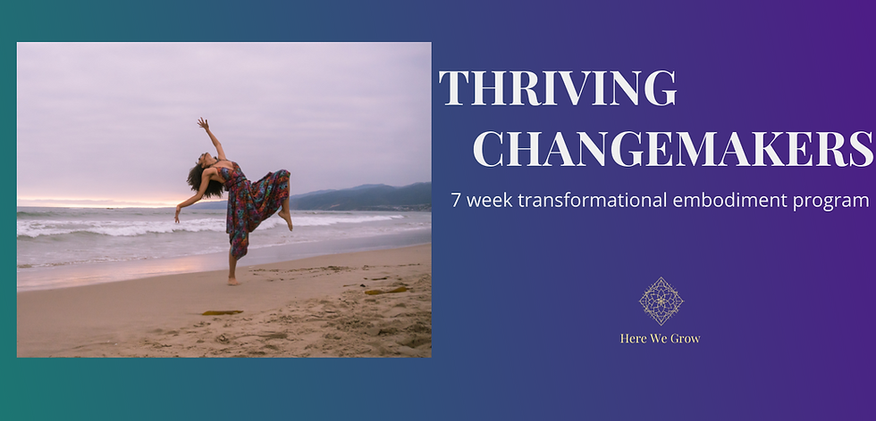 Copy of Landing Page - Thriving Change M