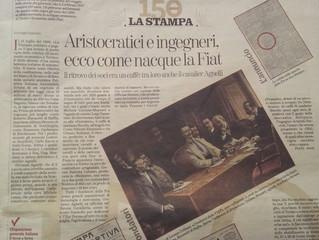La Stampa - Aristocratici e ingegneri, ecco  come nacque la Fiat