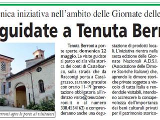 Visite guidate a Tenuta Berroni