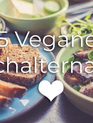 5 vegane Fleischalternativen
