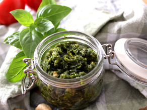 Würziges Basilikum Pesto