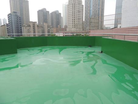 屋頂PU防水實例