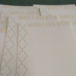 notes for newlyweds!