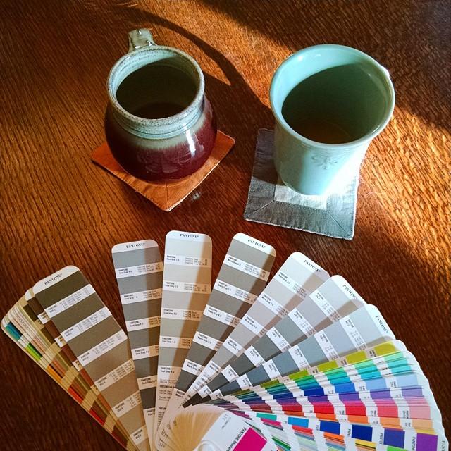 Pantone design consultation