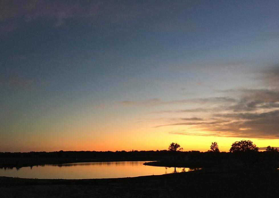 Rochester Lake Sunset