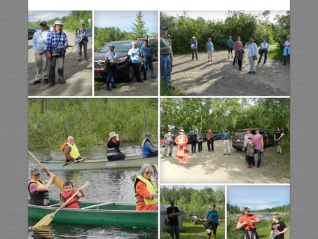 2020 Annual Ladyslipper Orchid Walk & Paddling on The Narrows