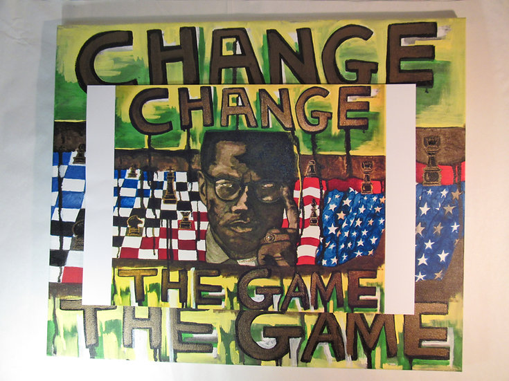 Change The Game Digital Poster