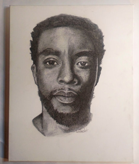 Chadwick Boseman Tribute Portrait