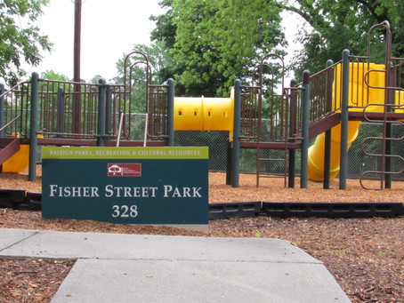 """May 10th to 14th - JUSTJENUSART - """"Fisher St Park Project"""" """"Geocaching"""" """"Historic Raleigh"""""""