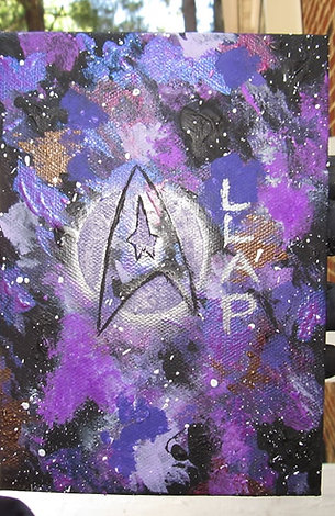 Abstract Star Trek Panel Art