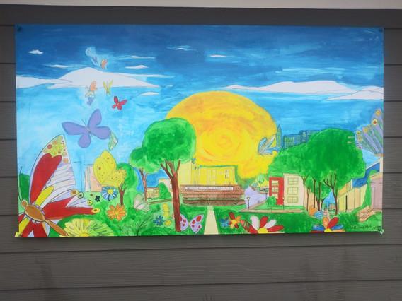Washington Terrace Community Mural - Ral