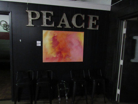 """""""Word of Art"""" on display at TheComplexxNC in Durham USA"""