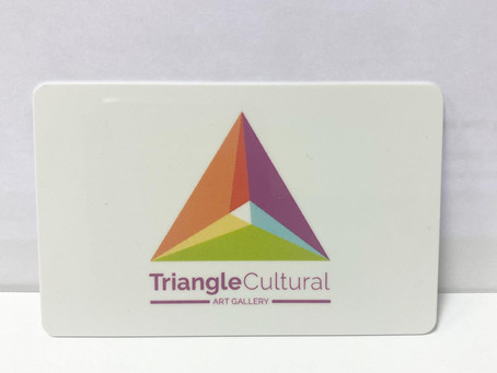 JustJenusArt exhibiting work at Triangle Cultural Art Gallery