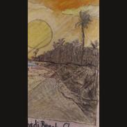 Sunset at Labadi Beach, Ghana.mp4